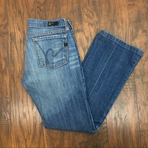 Citizens of Humanity Kelly #001 Boot Cut Jeans. 27